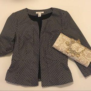 White House Black Market Peplum blazer